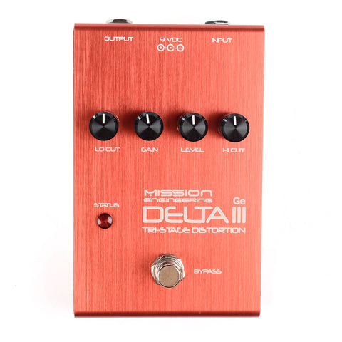 Mission Engineering Delta III Limited Edition Germanium/Silicon Hybrid Distortion/Fuzz