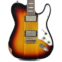 B3 Phoenix 3-Tone Sunburst Medium Distress w/Throbak ER-Custom MXV Humbuckers