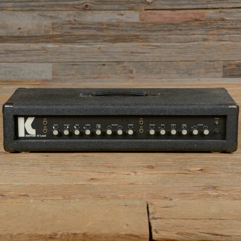 Kustom III Lead 1980s Solid State Amp - AS IS