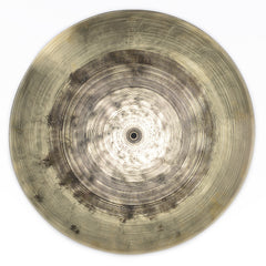 "Byrne Quarter Turk Series 20"" Flat Ride Cymbal 2257 Grams Partially Lathed"