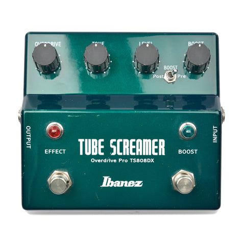 Ibanez TS808DX Tube Screamer Pro Deluxe w/Booster B Stock