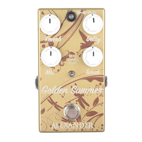 Alexander Pedals Golden Summer Reverb/Delay