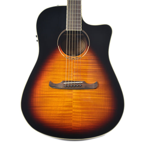Fender T-Bucket 300-CE Acoustic Flame Maple 3-Tone Sunburst v3