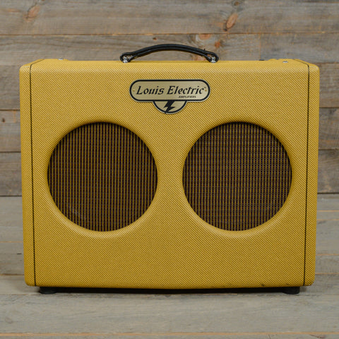 Louis Electric Gattone 35W 2x10 Combo Amp w/Celestion G10 Vintage Speakers USED