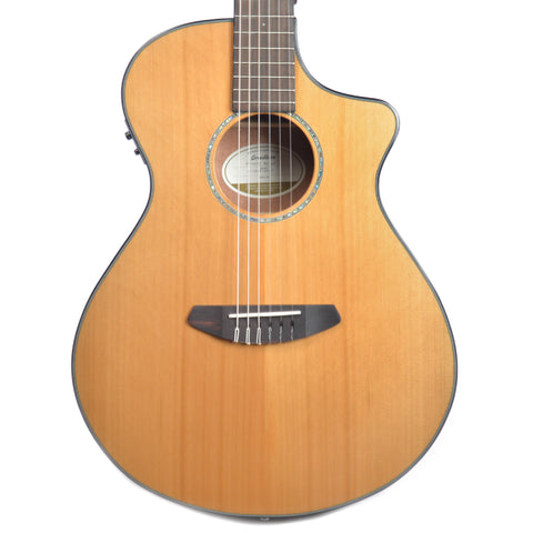 Breedlove Pursuit Concert Nylon Cutaway Acoustic-Electric