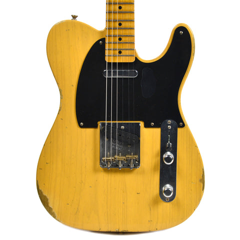Fender Custom Shop 1951 Telecaster Ash Relic Aged Butterscotch Blonde (Serial #R16591)