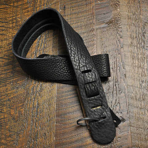 Lakota Leathers Dobro Guitar Strap 2 Inch Black