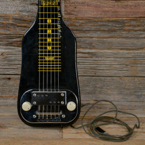 Oahu Lap Steel Black 1957 (s463)