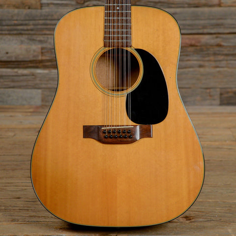 Martin D-12-18 12-String Acoustic-Electric Natural 1975 (s917)