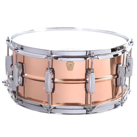 Ludwig 6.5x14 Copper Phonic Snare Drum w/Imperial Lugs