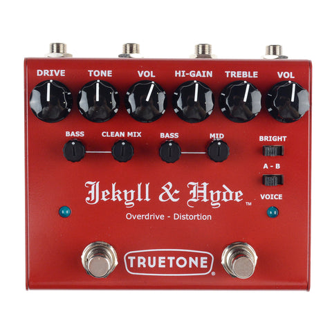 Truetone V3 Jekyll & Hyde Dual Overdrive & Distortion Pedal