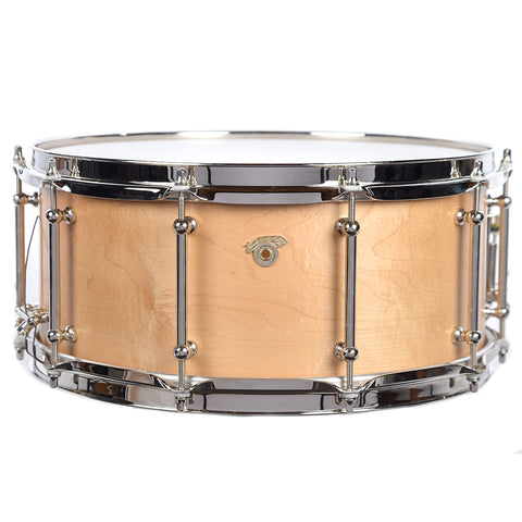 Joyful Noise 6.5x14 Legacy Maple Steam Bent 1-Ply Snare Drum w/Bright Nickel Hardware