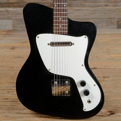 Danelectro Hawk Black Alligator 1960s