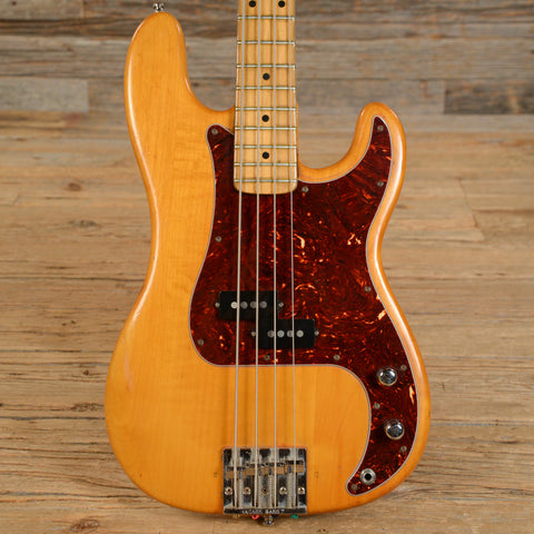 Fender Precision Bass Natural Refin 1974 (s629)