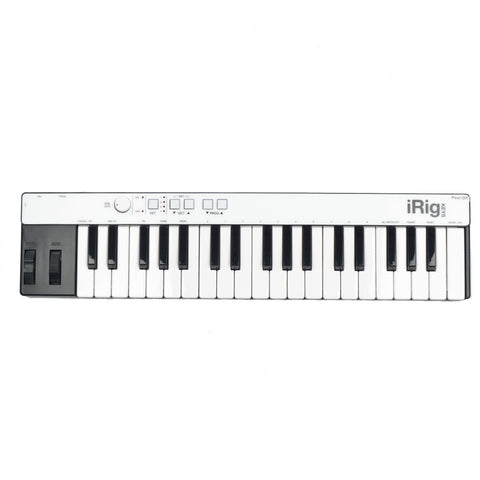 IK Multimedia iRig Keys with Lightning MIDI Keyboard for iOS Devices