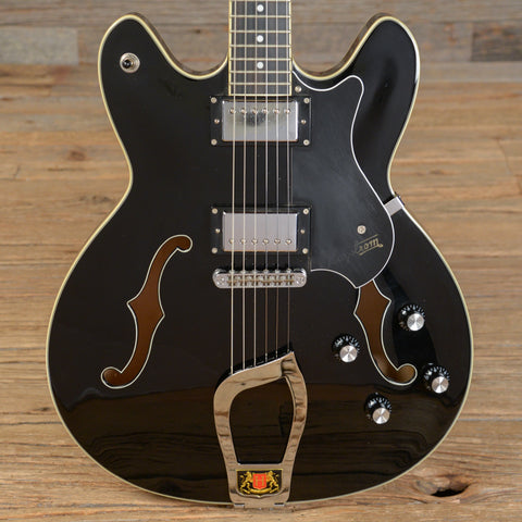 Hagstrom Viking Black 2011 (s653)