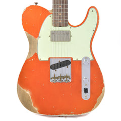 Fender Custom Shop 1960s Telecaster Custom Heavy Relic Hot Rod Super Faded Aged Candy Apple Red