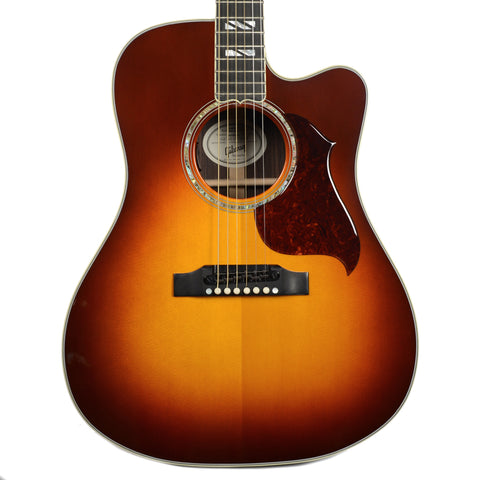 Gibson Montana Songwriter Cutaway Progressive Autumn Burst