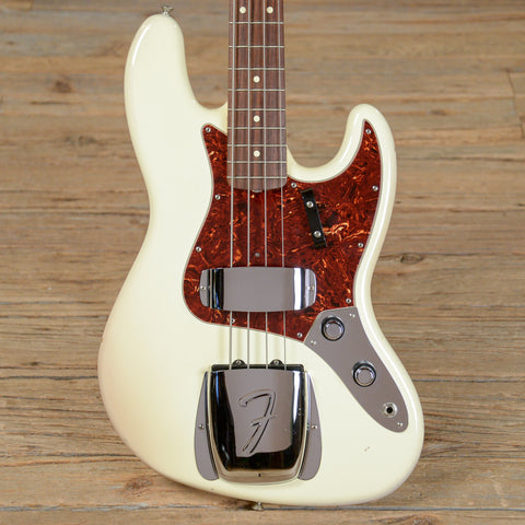 Fender American Vintage '62 Jazz Bass RW Olympic White USED (s913)