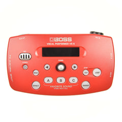 Boss VE-5 Vocal Effect Processor Red