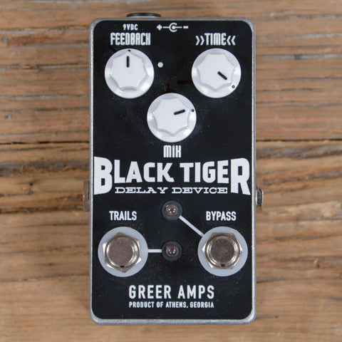 Greer Amps Black Tiger Delay Device USED