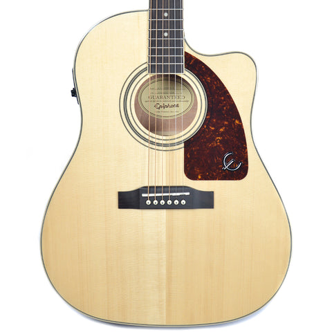 Epiphone AJ-220SCE Acoustic-Electric Natural