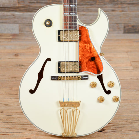 Gibson L4 Custom Shop 10th Anniversary Diamond White Sparkle USED (s008)