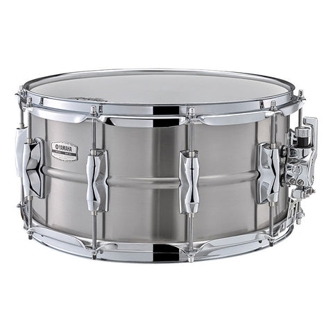 Yamaha 7x14 Recording Custom Stainless Steel Snare Drum, 2.3mm Shell