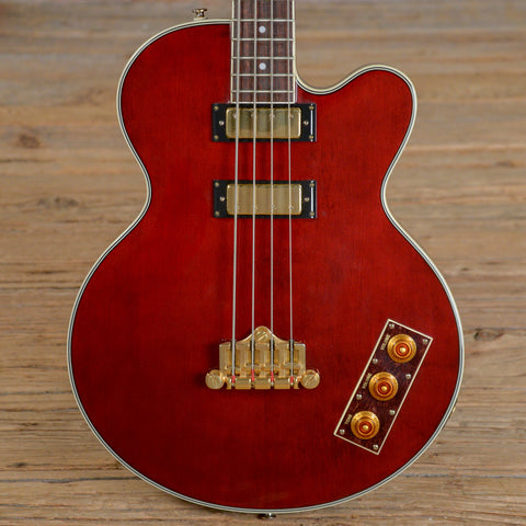 Epiphone Allen Woody Bass Rumblekat Bass Wine Red USED (s980)