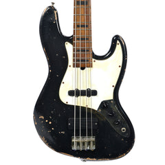 Marco Bass Guitars Relic JB4 Black w/New Pickups