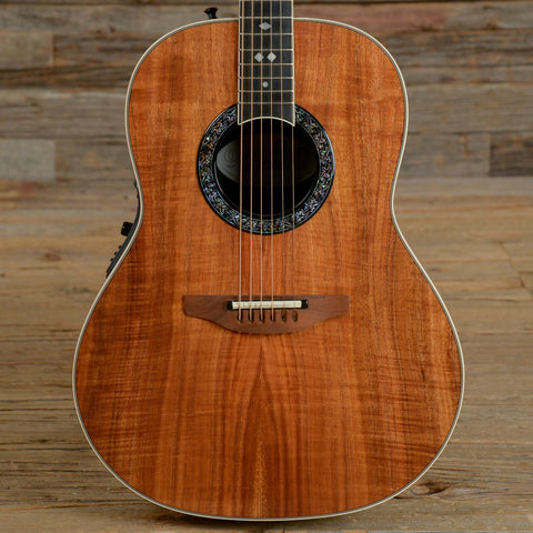 Ovation Custom Shop Koa 1717 Natural 1985 (s703)
