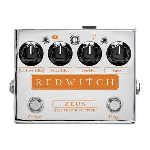 Red Witch Zeus Analog Bass Fuzz Suboctave Pedal