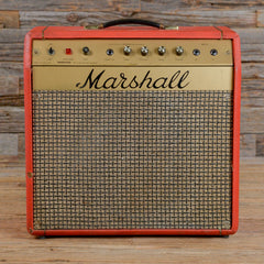 Marshall Model 2060 Mercury 1x12 Combo Red 1970s