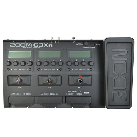 Zoom G3XN Multi-Effects Processor with Expression Pedal