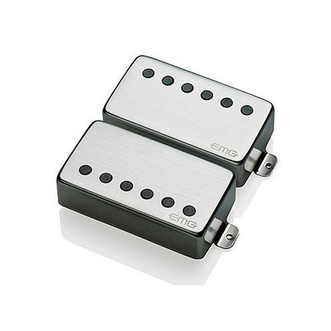 EMG 57/66 Humbucker Set Brushed Chrome