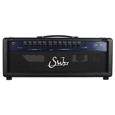 Suhr PT-100 Pete Thorn Signature Edition 100 Watt 3 Channel Tube Head