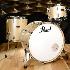 Pearl Wood/Fiberglass 13/16/24 3pc Kit Platinum Mist