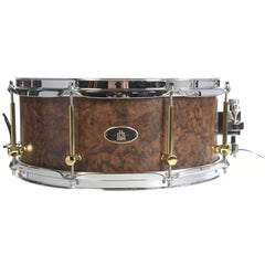RBH Monarch 6 x 14 Snare Drum Walnut Burl