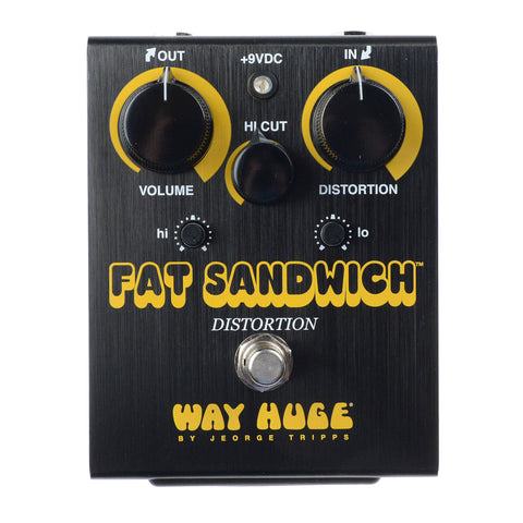 Way Huge WHE301 Fat Sandwich Distortion Limited Edition Black
