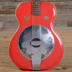 Airline Resoglass Resonator Red 1960s (s989)