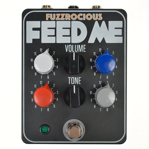 Fuzzrocious Feed Me EQ Tone Shaper CME Exclusive Black/Orange