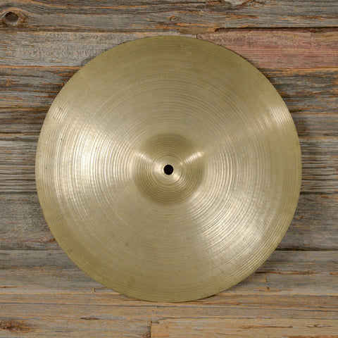 "Zildjian 14"" Avedis Hi-Hat Single Top/Bottom 1970s USED"