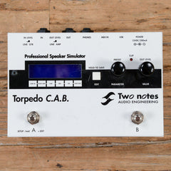 Two-Notes Torpedo C.A.B. Simulator USED