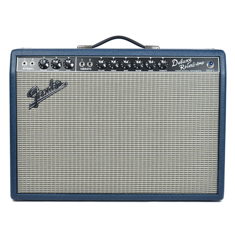 Fender '65 Deluxe Reverb Navy Blues Limited Edition 22W 1x12 Combo