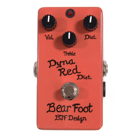 BearFoot Dyna Red Distortion Classic
