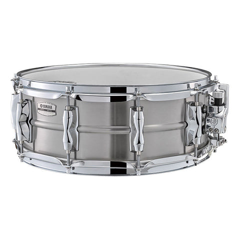 Yamaha 5.5x14 Recording Custom Stainless Steel Snare Drum, 1.2mm Shell