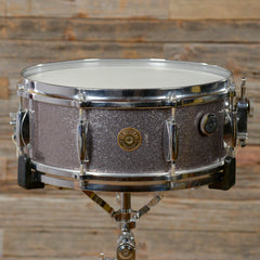 Gretsch 5.5x14 Round Badge #4157 Snare Drum Starlight Sparkle Early 1960s USED