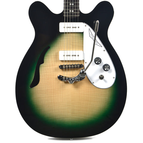 Eastwood Micro-Frets Spacetone DLX Martian Green