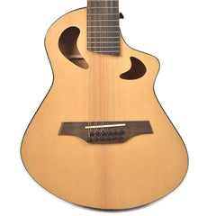 "Veillette Avante Series Gryphon 18.5"" Scale D-Tuned 12-String Acoustic-Electric Natural w/Case"