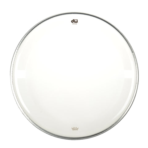 "DW 12"" Coated Clear Drum Head"